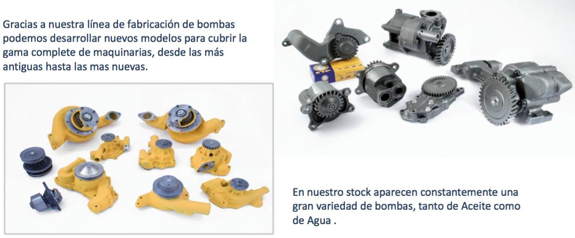 Bombas de tractor