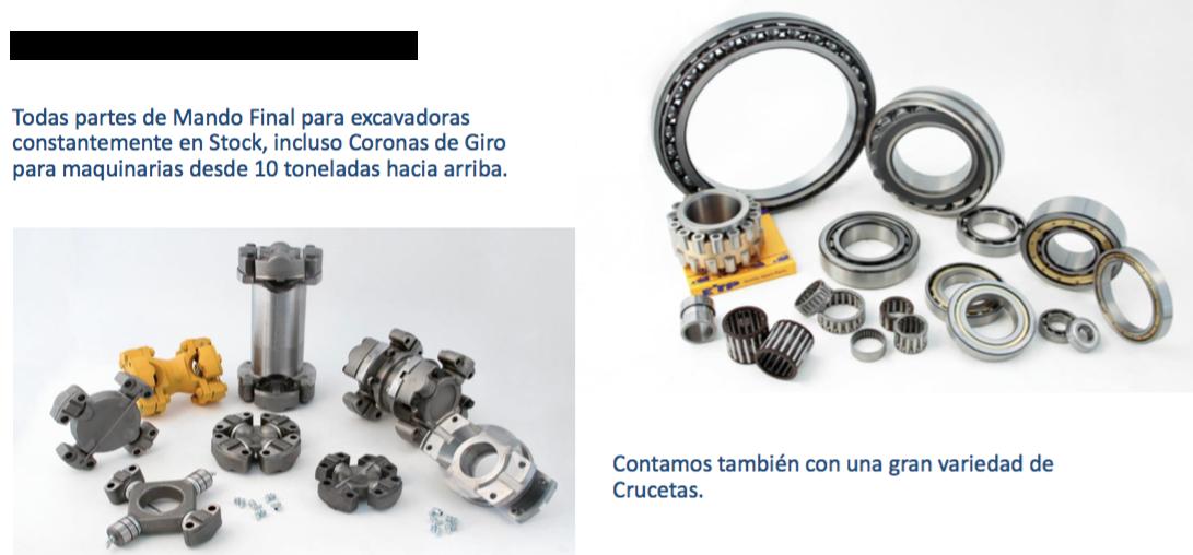 Engranajes y rodamientos